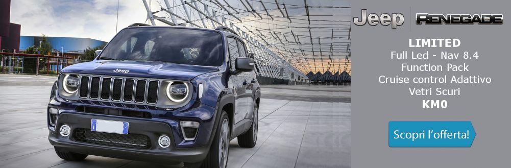 Jeep Renegade Limited in offerta KM0 - Gruppo Zago