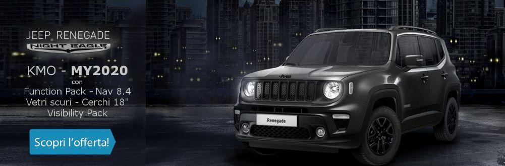 Jeep Renegade Night Eagle. Guarda che prezzo da Gruppo Zago a Bovisio Masciago