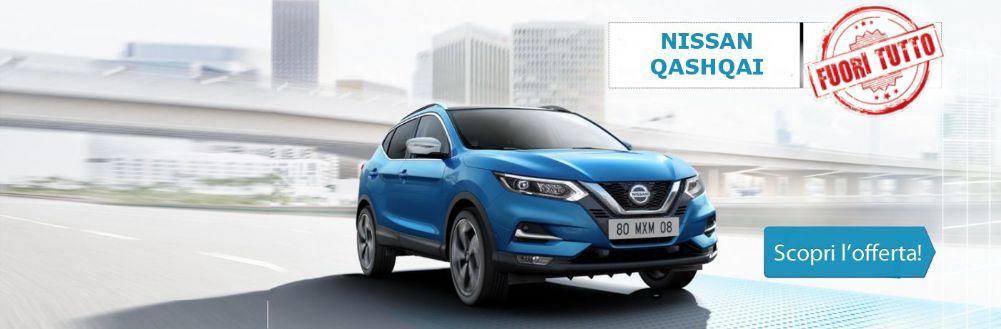 Nissan Qashqai in promozione da Gruppo Zago