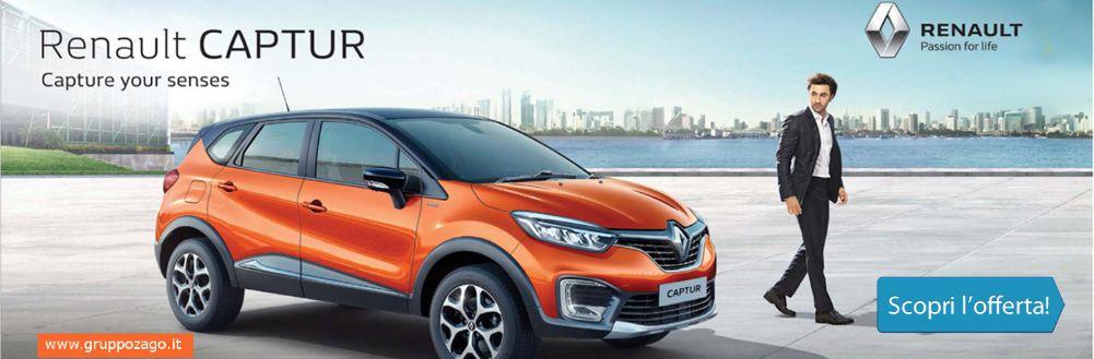 Renault Captur in promozione da Gruppo Zago a Bovisio Masciago