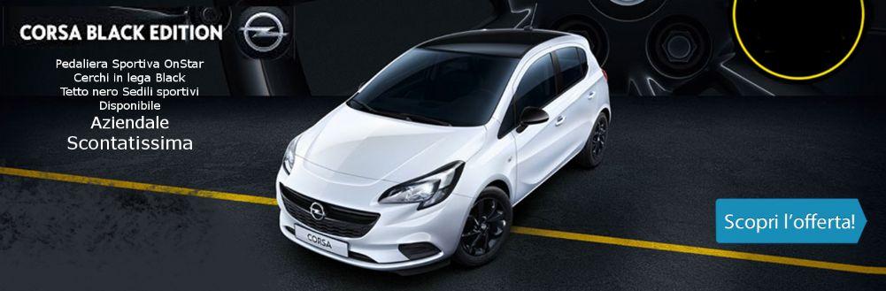 Opel Corsa Black Edition. Sportiva di Classe. Da Gruppo Zago Aziedale Scontatissima!