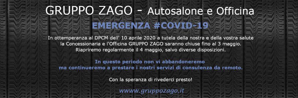 Emergenza Covid-19: Gruppo Zago vi è vicino e risponde alle vostre domande