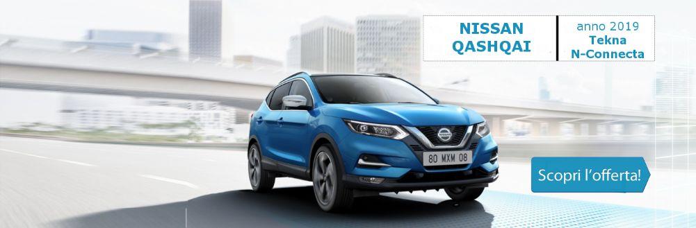 Nissan Qashqai a prezzo scontatissimo da Gruppo Zago a Bovisio Masciago