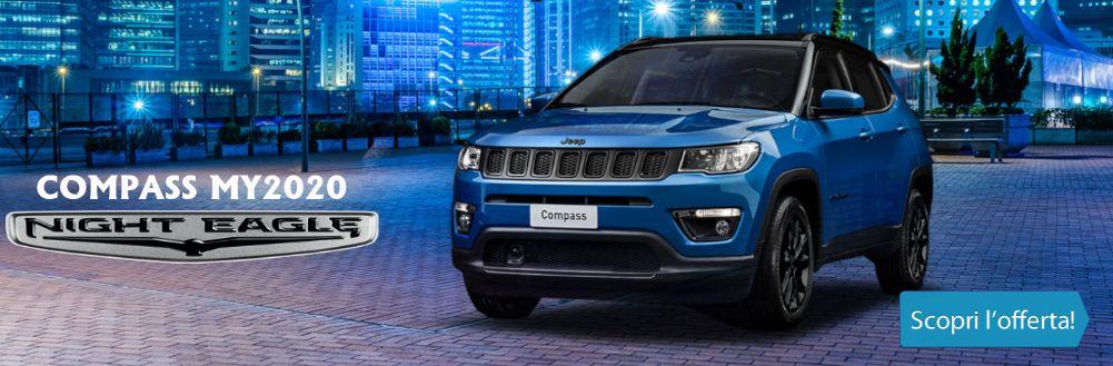 Jeep Compass 2020 Night Eagle già disponibile KM0