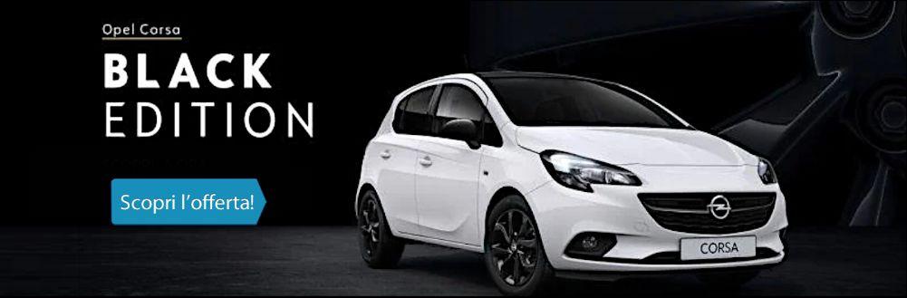 Opel Corsa Black Edition. Tua ad un prezzo incredibile!
