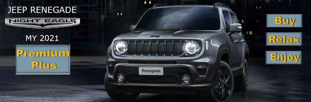 Jeep Renegade Night Eagle con Formula PREMIUM PLUS di Gruppo Zago