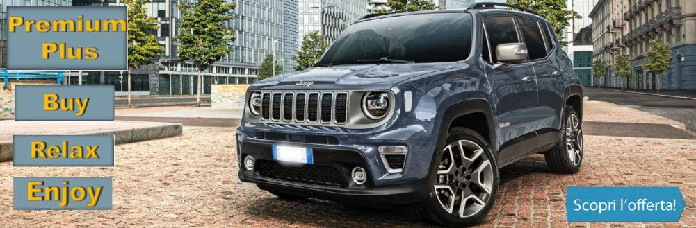 Jeep Renegade Limited KM0. Scopri l'Offerta.